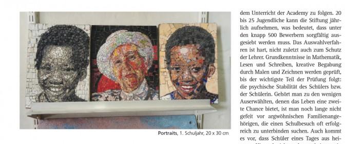 Keramische Mosaike Aus Kapstadt